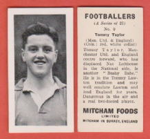 Manchester United Tommy Taylor England 9 (mm)